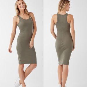 Splendid Olive Midi Tank Dress